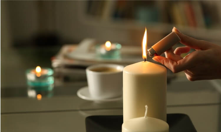 Can You Light Candles In A Hotel Room: Benefits Of Using Candles