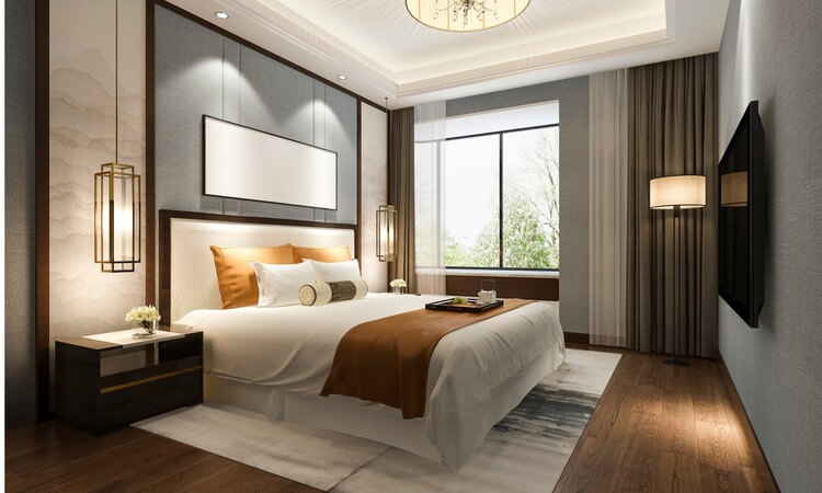 How To Design Your Bedroom Like A Hotel Room: Luxury Hotel Inspired Bedroom